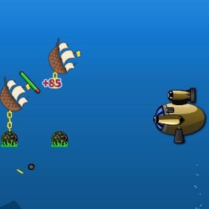Гра Батискаф: Підводна Стрільба