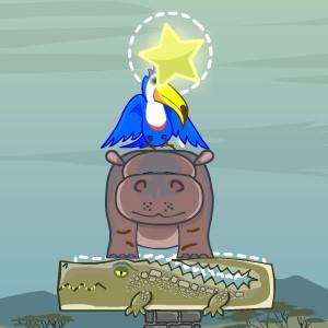 Гра на Фізику: Пірамідка з Тварин