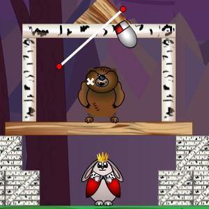 Гра на Фізику: Захисти Короля Зайця