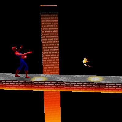 Гра Людина-Павук на двох: Бійки