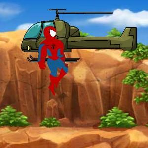 Гра Людина-Павук: Стрибай і Чіпляйся