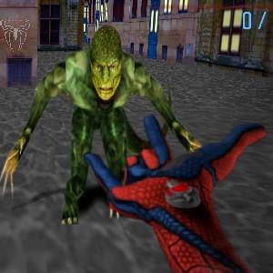 Гра Людина-Павук проти Людини Ящірки