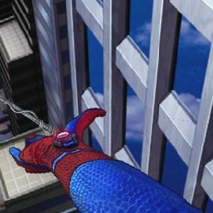 Гра Людина-Павук Стріляє Проти Роботів Павуків