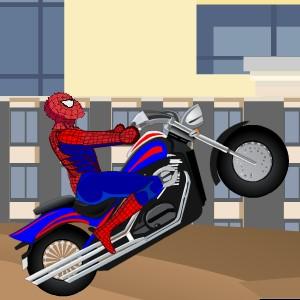 Гра Людина-Павук на байку проти Доктора Октопус
