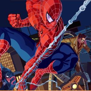 Гра Людина-Павук: Підібрати Пазл