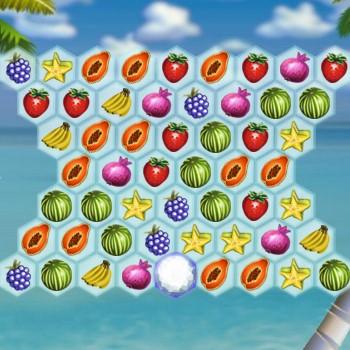 Гра Тетріс Фруктовими Кульками: Тропічний Каскад