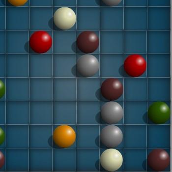 Гра Побудувати Лінії з Однакових Кульок