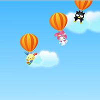 Гра Хелло Кітті на повітряній кулі