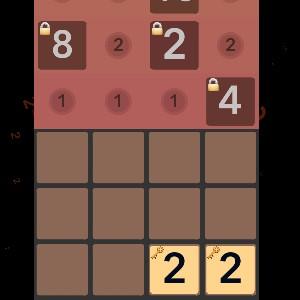 Гра 2048 Подвійна