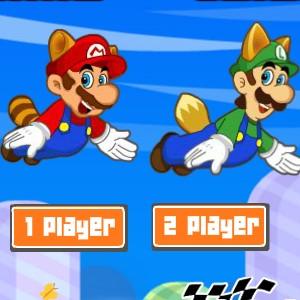 Гра Літаючий Маріо і Луїджі на двох