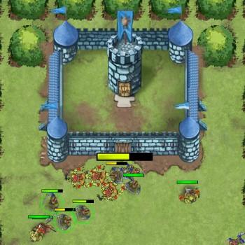 Гра Армія Лицарів проти Орків