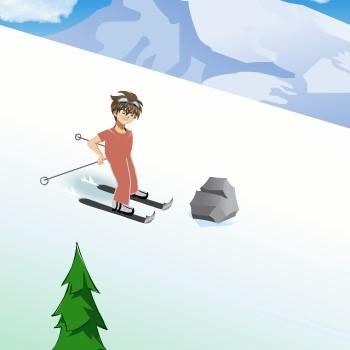 Гра Бакуган Катається на лижах