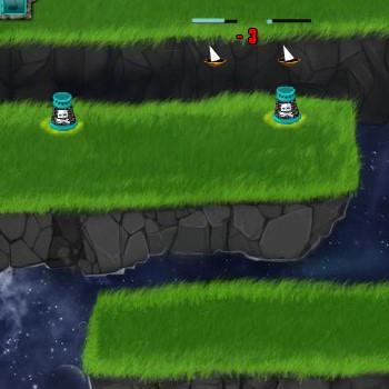 Гра Захист Башти від Космічних Піратів