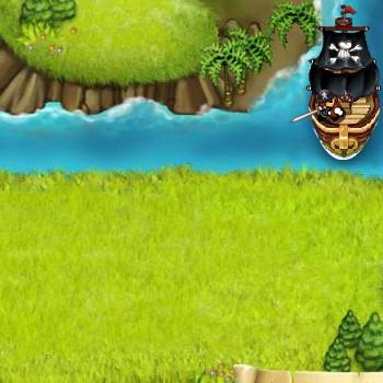 Гра Захист Башти і Тортика від Піратів