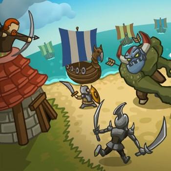 Гра Захист Башти і Острова від вікінгів