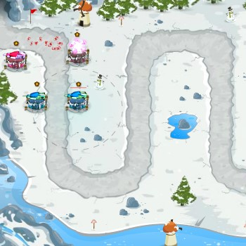 Гра Захист Снігових Веж