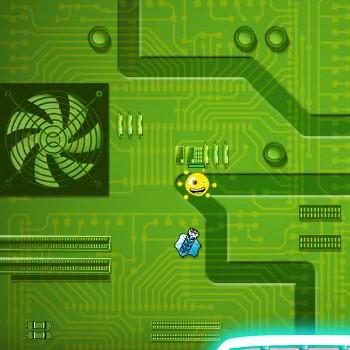 Гра Захист Башти від вірусів