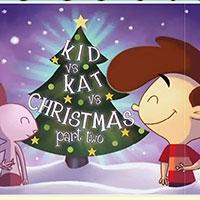Гра Різдвяний пазл Кіт  вісі Кет
