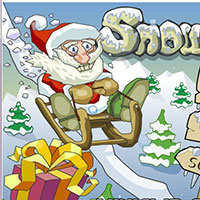 Гра Санта збирає подарунки