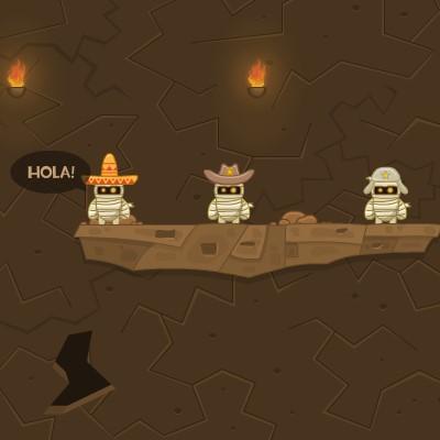 Ігри Взрывалка Мумій: Закладка Динаміту