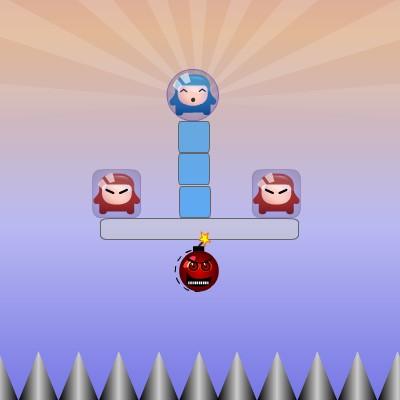 Гра Взрывалка: Бомби і Бульбашки