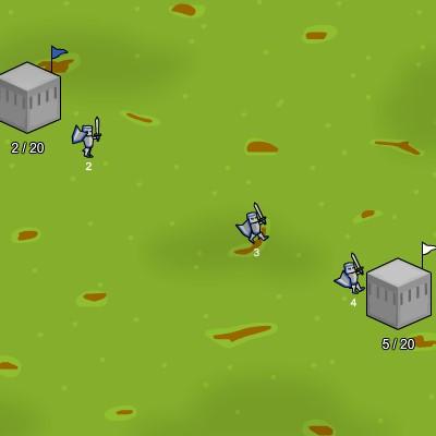 Гра Війська: Захоплення Замків і Територій