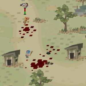 Гра Війська Обороняються від Мутантів