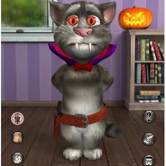 Мовець Гра: Кіт Том на Хеллоуїн