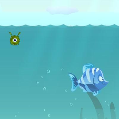 Гра Головоломка про Маленьку Рибку