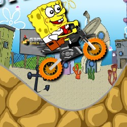 Гра Гірки з Спанч Бобом: Супер Велосипедист