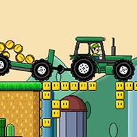 Гра Маріо: Прогулянка на тракторі