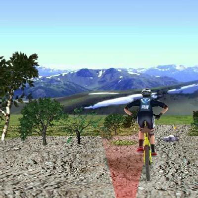 Гра Катання з Гірок 3Д на Байку