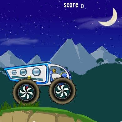 Гра Космічний Вантажівка: Перевезення