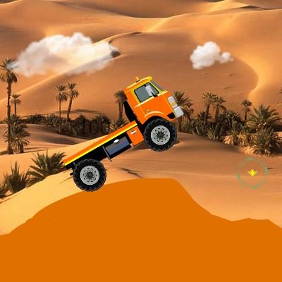 Гра Вантажівки в Пустелі