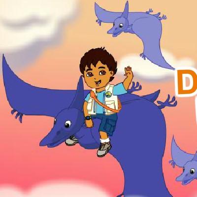 Гра Динозаври: Крилаті Ящери і Дієго