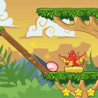 Гра Динозаври: Повернути Яйце Мамі