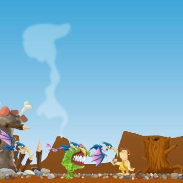 Гра Динозаври: Бої