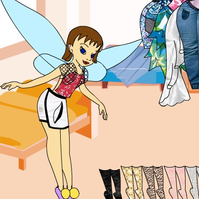 Гра Дінь Дінь: Одевалка Феї 7
