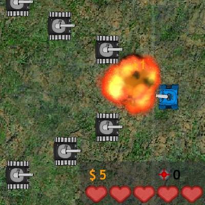 Гра Захист: Танкова Оборона