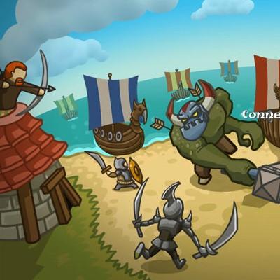 Гра Захист: Війна Вікінгів