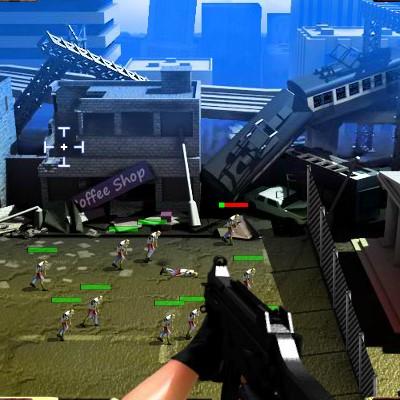 Гра Захист проти Зомбі: Поле Бою