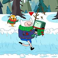 Гра Картун Нетворк: Снігова втеча