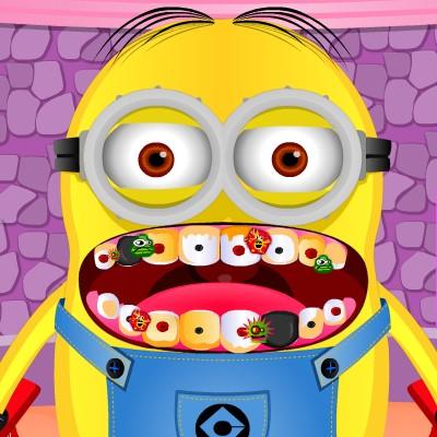 Гра Огляд Зубів Міньйона у Стоматолога