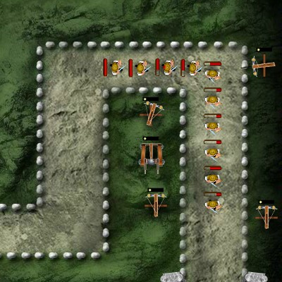 Гра Катапульта: Війська Римської Імперії