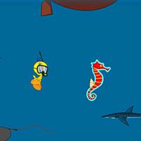 Гра Картун Нетворк: Ципа чистить море!