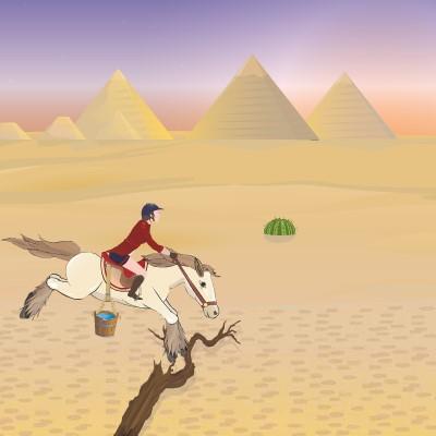 Гра Єгипетська Кінь: Стрибки Через Перешкоди