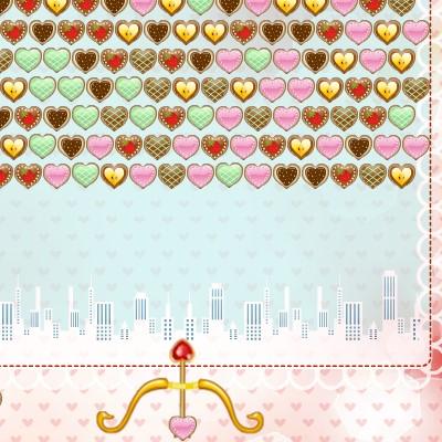 Гра Стріляємо ищз Цибулі з Сердечком: День Валентина