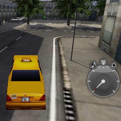 Гра Машини: Таксі Ліцензія 3Д