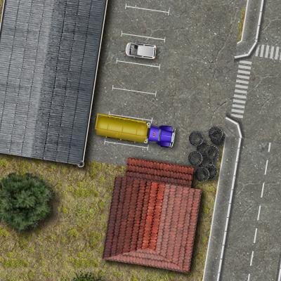 Гра Машина: Вантажівка з Цистерною