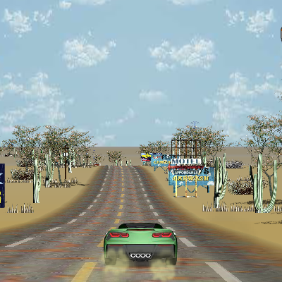 Гра Гонка на Машинах 2